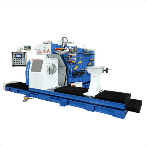 50-150mm Programmable HV Foil Winding Machine