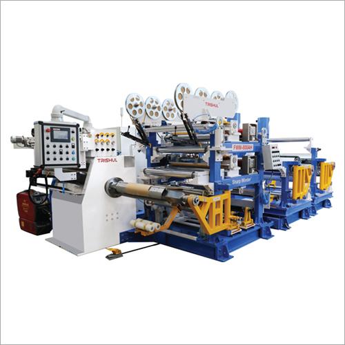 Automatic Low Power Transformer Foil Winding Machine