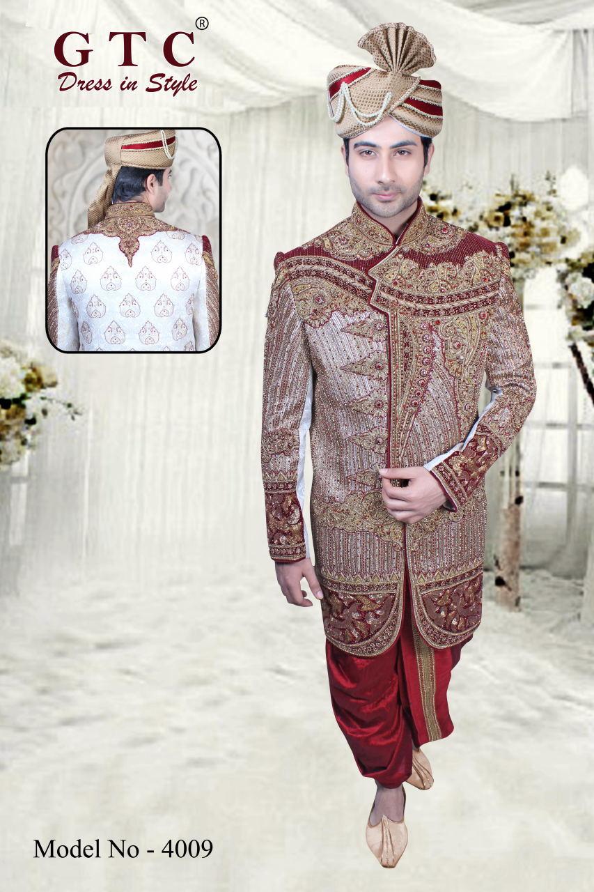 4009 EXCLUSIVE & WEDDING SHERWANI
