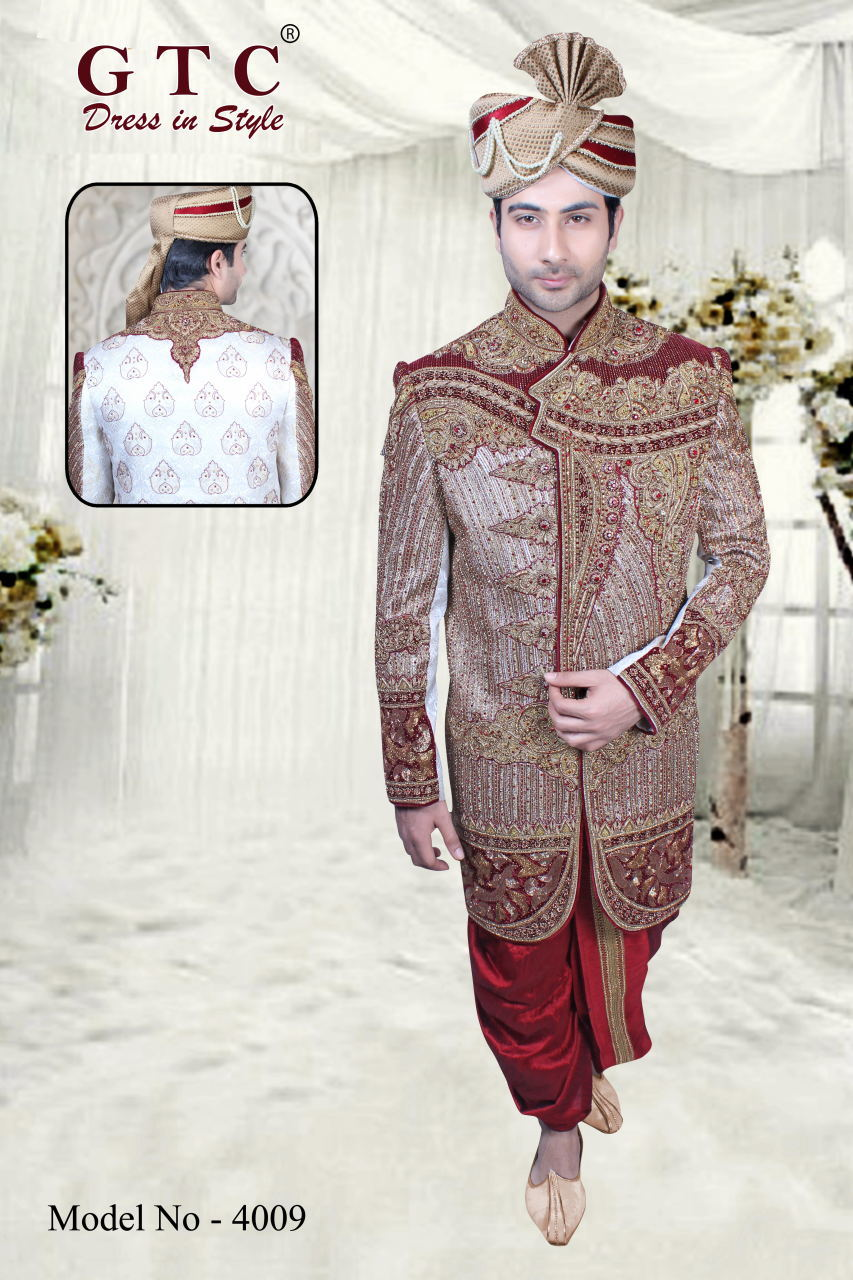 4009 EXCLUSIVE & WEDDING SHERWANI