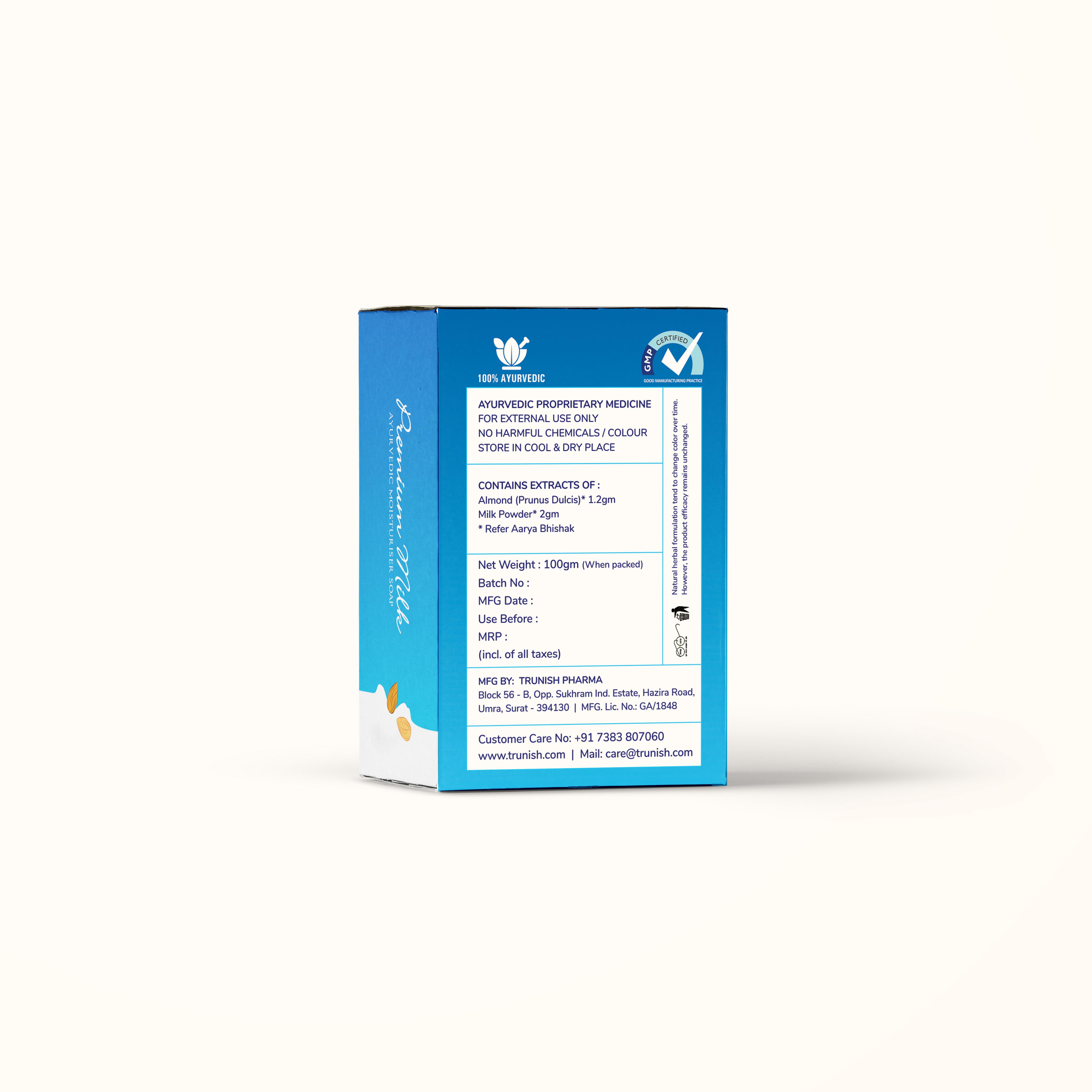 Ayurvedic Premium Milk Soap