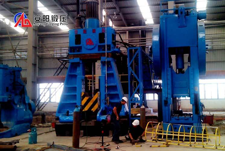 16 ton hydraulic forging hammer full hydraulic closed die hot forging hammer