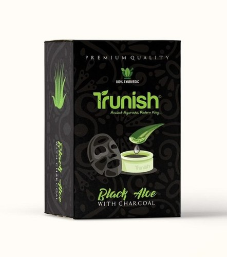 Herbal Black Aloe Soap (Charcoal Soap)