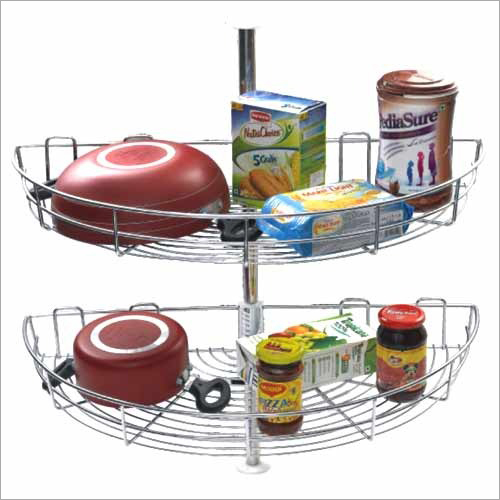 D Tray Carousel Kitchen Basket