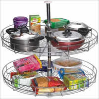 Full Round Carousel Kitchen Basket