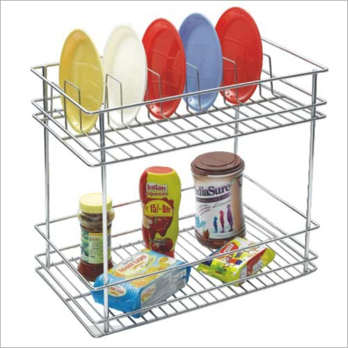 Bottle Plate Pull Out Basket