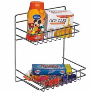 Stainless Steel Pull Out Storage Basket