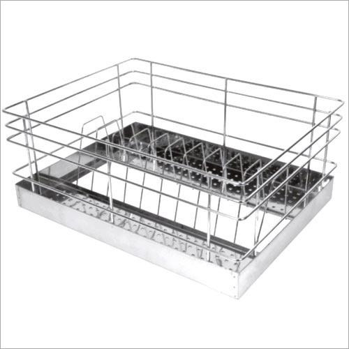 Perforated SS Kitchen Thali Basket