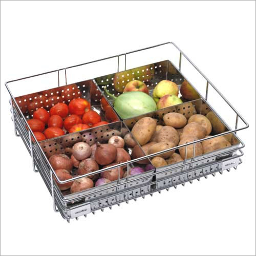 SS Vegetable Kitchen Basket