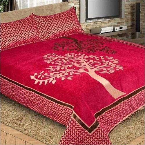 Designer Chenille Bed Sheet
