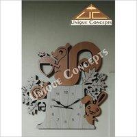 Decorative Wooden Wall Clock
