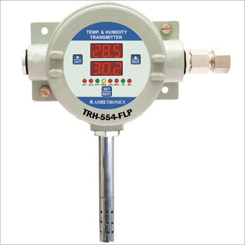 Flameproof Temperature And Humidity Transmitter
