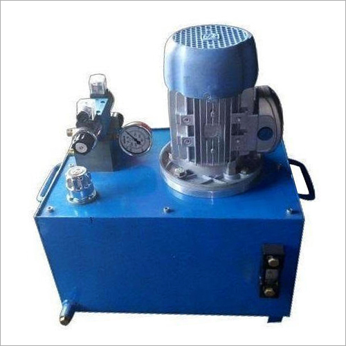 Semi Automatic Hydraulic Power Pack Machine