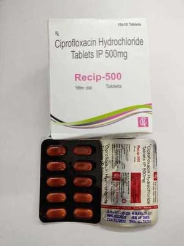 Ciprofloxacin-500 Tabs