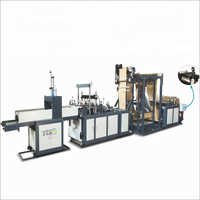 Three Phase Non Woven Carry Bag Machine