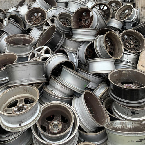 Aluminium Alloy Wheels Scrap