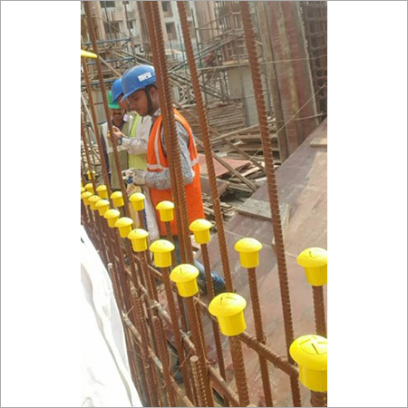Plastic Rebar Safety Cap