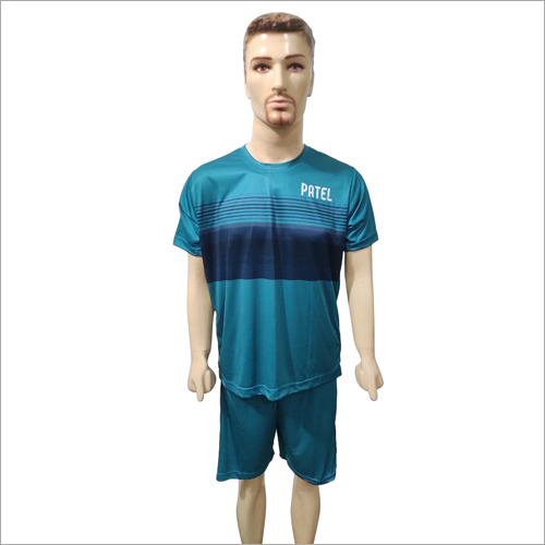 Mens Customized Sports T-Shirt with Shorts