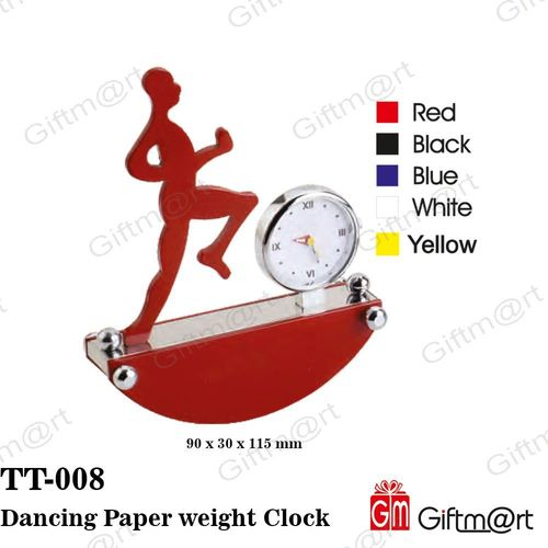 Dancing Paper Weight Clock