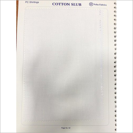 Cotton Slub