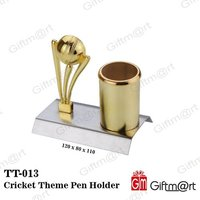 Cricket Theme Pen Holder