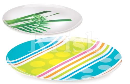 Round Melamine Flat Plates