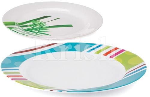 Round Melamine Dinner Plates
