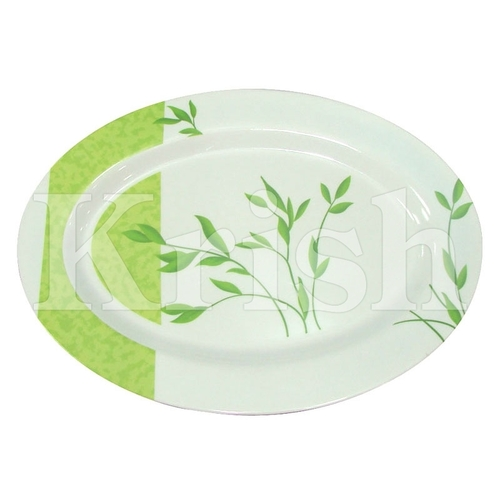 Oval Melamine Rice Tray