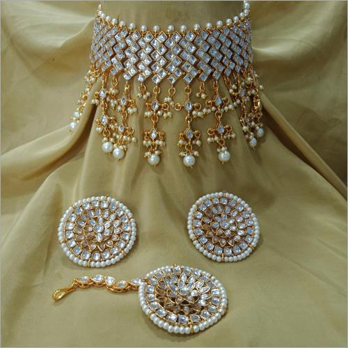 Artificial Choker Necklace Set