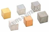 Cube set of six metal Labcare