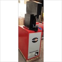 Foot operated brake shoe line riveting machine