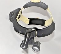Binocular Head Loupe with Headgear Headband Headlight