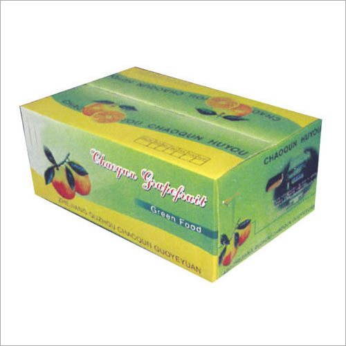 Fruit Packing Corrugated Box