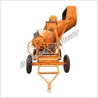 Full Bag Concrete Mixer With Hopper