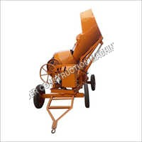 Mild Steel Concrete Mixer WithHydraulic Hopper
