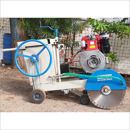 Concrete Road Cutting Machine Self Start
