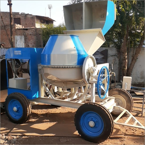 Digital Load Cell Hopper Concrete Mixer