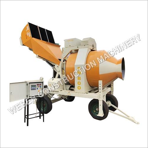 Weber Reversible Concrete Mixer Machine