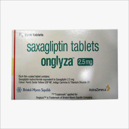 Saxagliptin Tablets 2.5 Mg