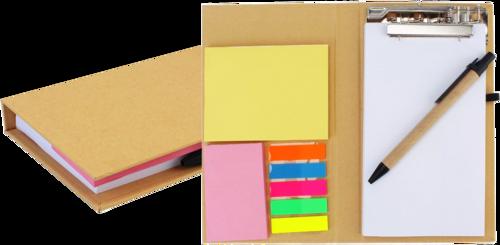 Oddy Re-stick Executive Folder with Clip