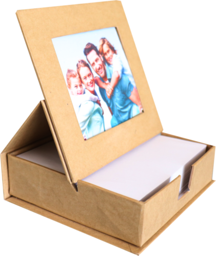 Scribbling Pad with Photo Frame