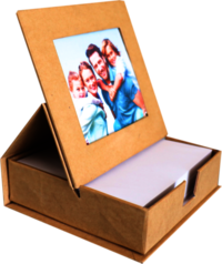 Oddy re-stick - (RS-SPPF) - Scribbling Pad with Photo Frame