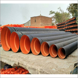 Round Double Wall Corrugated Pipes