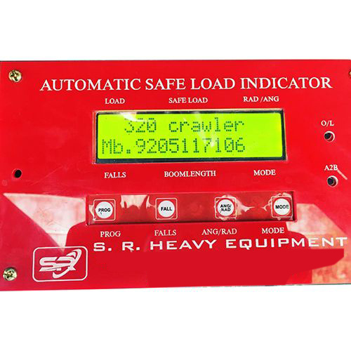 Crawler Crane Digital Safe Load Indicator