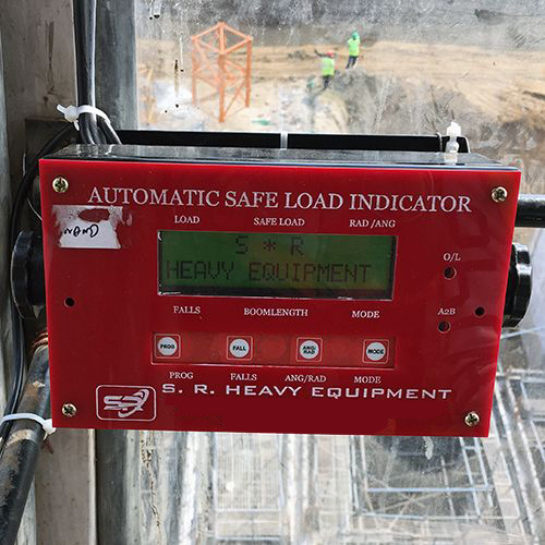 Tower Crane Safe Load Indicator