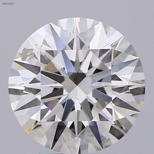 CVD Diamond 2.01ct I SI2 Round Brilliant Cut IGI Certified Stone