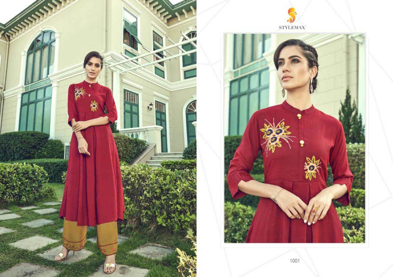 Cotton With Heavy Embroidery Inner Stiched