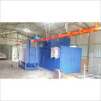 Aluminium Powder Coating Oven