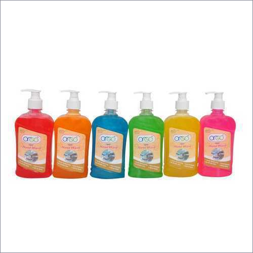 Hand wash Cleaner Label