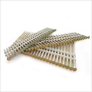 Plastic Collated Nail Strips